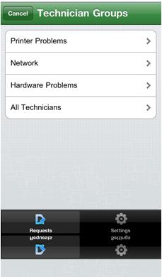 line Help Desk Software iPhone Helpdesk app